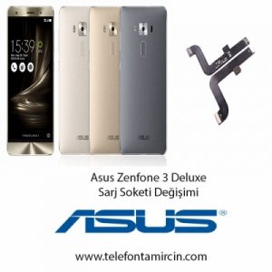 Asus Zenfone 3 Deluxe Sarj Soket Değişimi