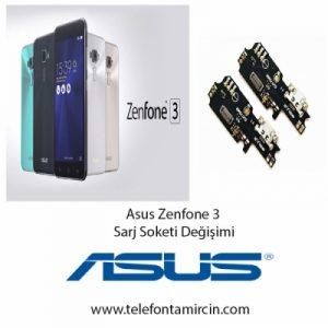 Asus Zenfone 3 Sarj Soket Değişimi