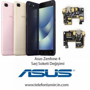 Asus Zenfone 4 Sarj Soket Değişimi