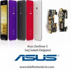 Asus Zenfone 5 Sarj Soket Değişimi