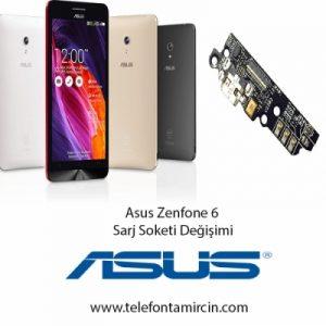 Asus Zenfone 6 Sarj Soket Değişimi