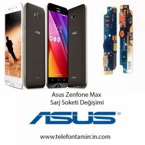 Asus Zenfone Max Sarj Soket Değişimi