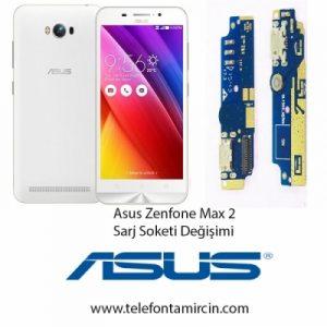 Asus Zenfone Max 2 Sarj Soket Değişimi