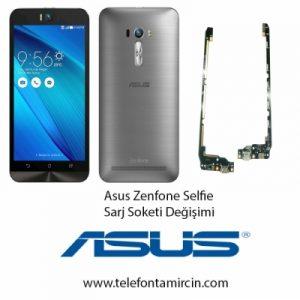 Asus Zenfone Selfie Sarj Soket Değişimi