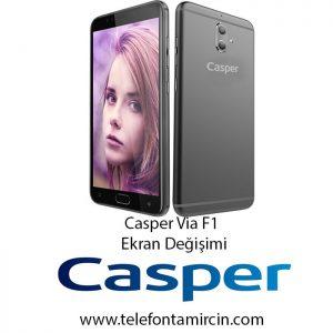 Casper Via F1 Ekran Değişimi