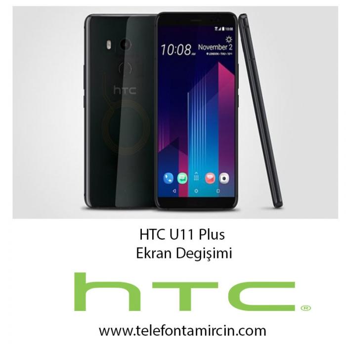 HTC U11 Plus Ekran Değişimi