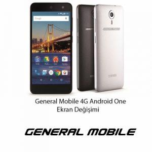 General Mobile 4G One Ekran Değişimi