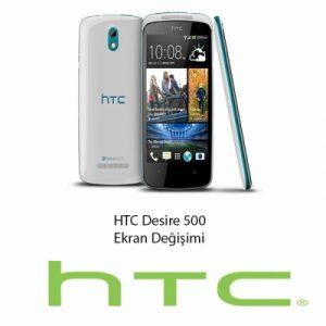 HTC Desire 500 Ekran Değişimi