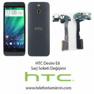 Htc Desire E8 Sarj Soket Değişimi