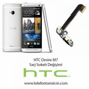 Htc Desire M7 Sarj Soket Değişimi