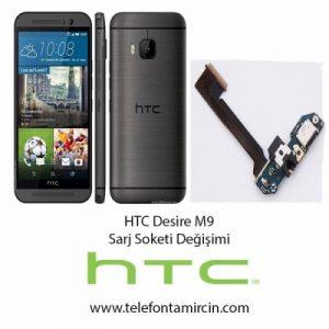 Htc Desire M9 Sarj Soket Değişimi