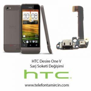 Htc Desire One V Sarj Soket Değişimi