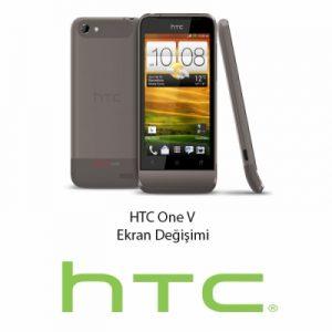 HTC One V Ekran Değişimi