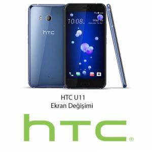 HTC U11 Ekran Değişimi