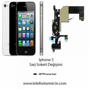 iPhone 5 Sarj Soket Değişimi