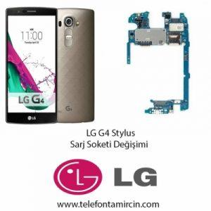 LG G4 Stylus Sarj Soket Değişimi
