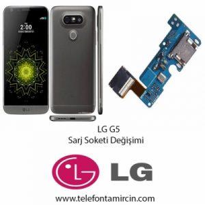 LG G5 Sarj Soket Değişimi