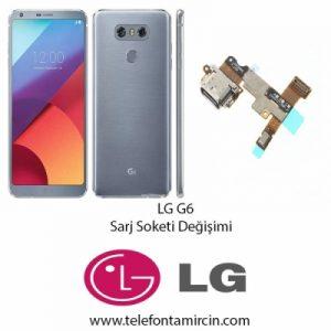 LG G6 Sarj Soket Değişimi