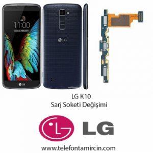 LG K10 Sarj Soket Değişimi
