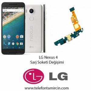 LG Nexus 4 Sarj Soket Değişimi
