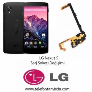 LG Nexus 5 Sarj Soket Değişimi
