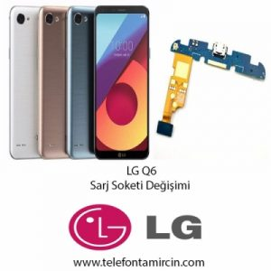 LG Q6 Sarj Soket Değişimi