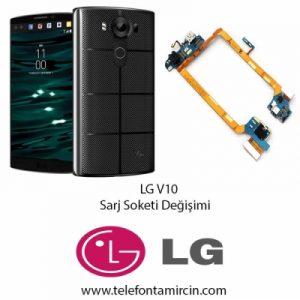 LG V10 Sarj Soket Değişimi