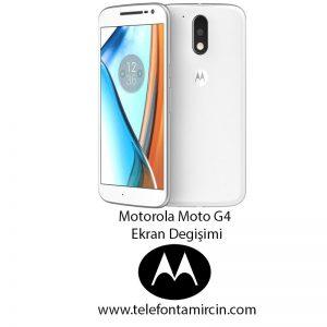 Motorola Moto G4 Ekran Değişimi