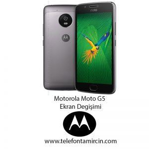 Motorola Moto G5 Ekran Değişimi