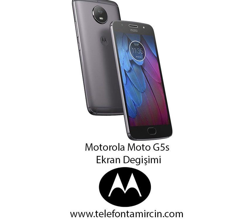 Motorola Moto G5s Ekran Değişimi