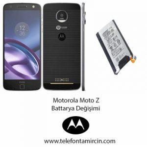 Motorola Moto Z Batarya Değişimi
