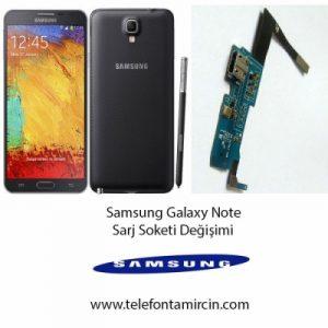 Samsung Note Sarj Soket Değişimi