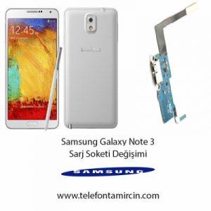 Samsung Galaxy Note 3 Sarj Soket Değişimi