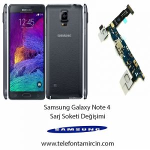 Samsung Galaxy Note 4 Sarj Soket Değişimi
