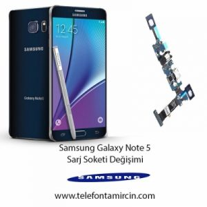 Samsung Galaxy Note 5 Sarj Soket Değişimi