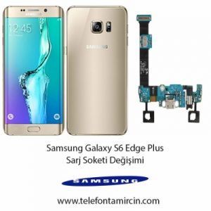 Samsung S6 Edge Plus Sarj Soketi Değişimi
