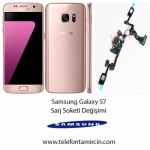 Samsung S7 Sarj Soketi Değişimi