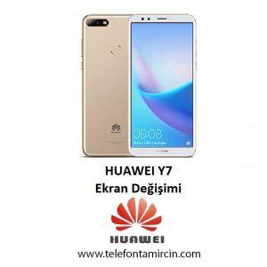 Huawei Y7 Ekran Değişimi