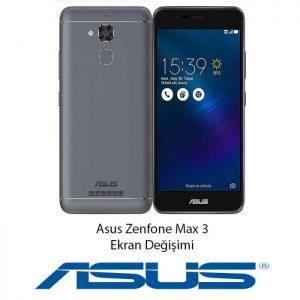 Asus Zenfone Max 3 Ekran Değişimi