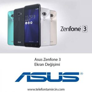 Asus Zenfone 3 Ekran Değişimi