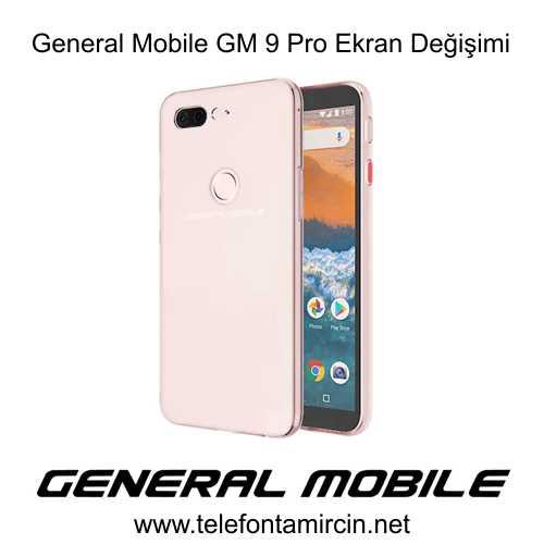 General Mobile GM9 Pro Cam Değişimi