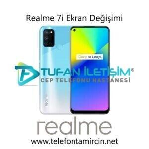 Realme 7i Ekran Değişimi