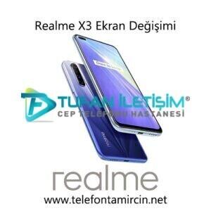 Realme X3 Ekran Değişimi