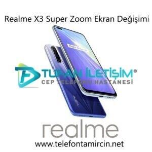 Realme X3 SuperZoom Ekran Değişimi