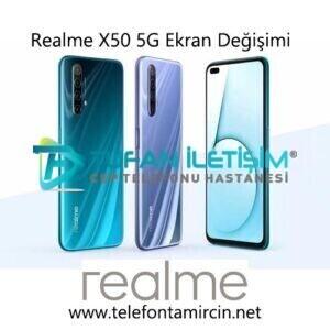 Realme X50 5G Ekran Değişimi
