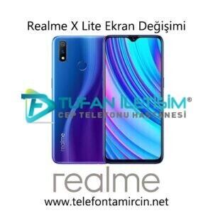 Realme X Lite Ekran Değişimi